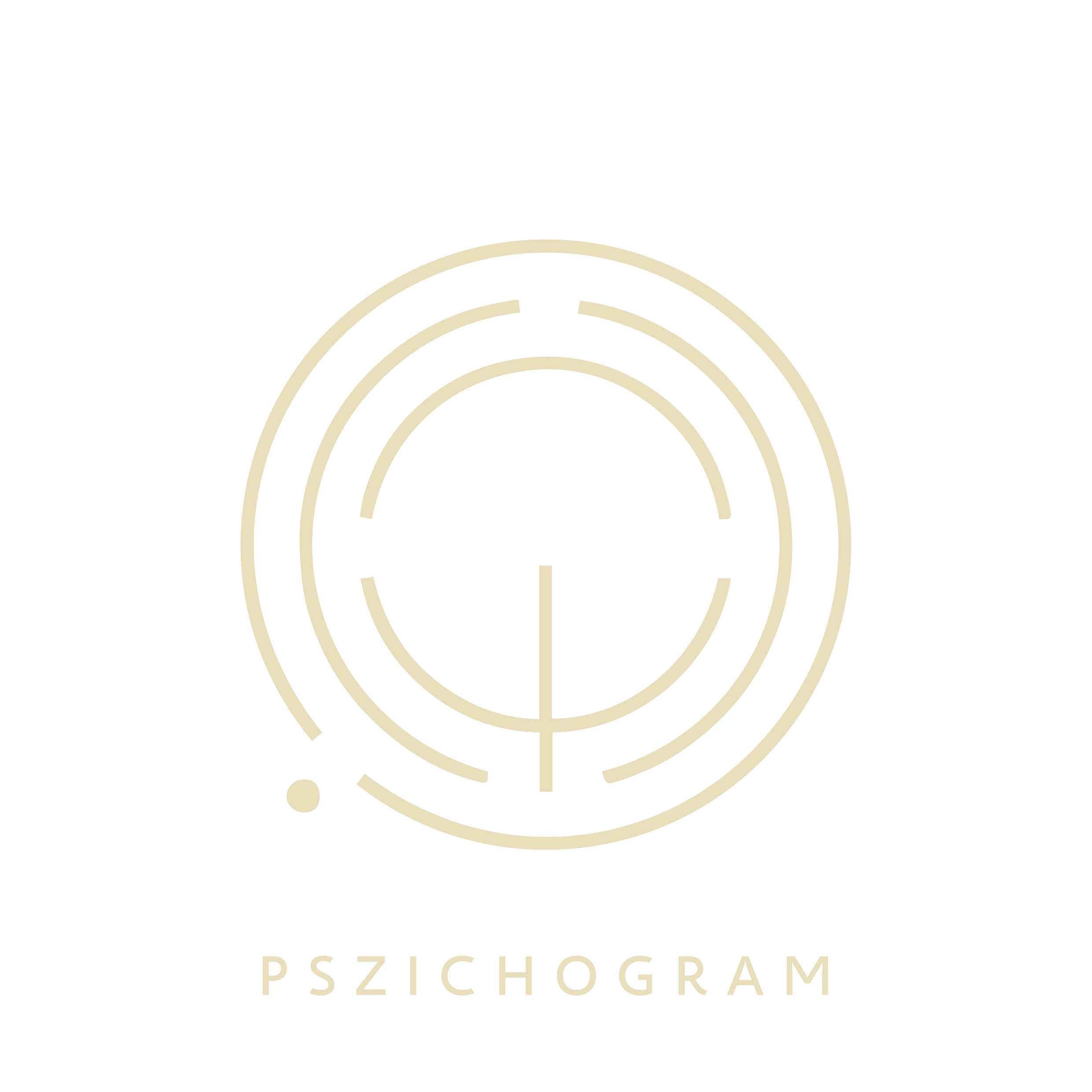 Pszichogram Pszichológiai Tanácsadó logó sárga